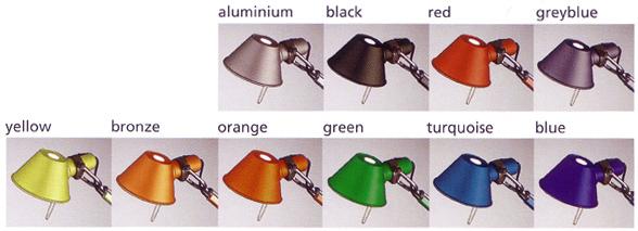 Många olika färger